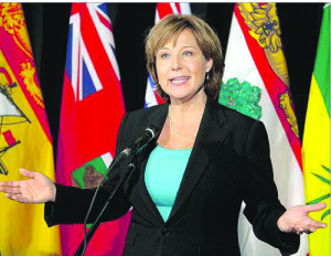 Christy Clark, re-elected B.C. premier.