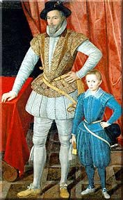 Walter Raleigh & son Wat