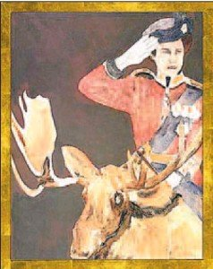 Charles Pachter. Queen, moose.