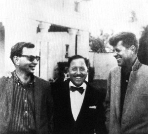 Gore Vidal, Tennessee Williams, John F. Kennedy.