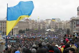 The Maidan, Kiev, Ukraine.