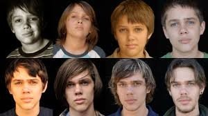 "Boyhood's Ellar Coltrane in ""real time."""