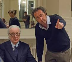 Michael Caine, Paolo Sorrentino.