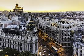 Gran Via, Madrid.
