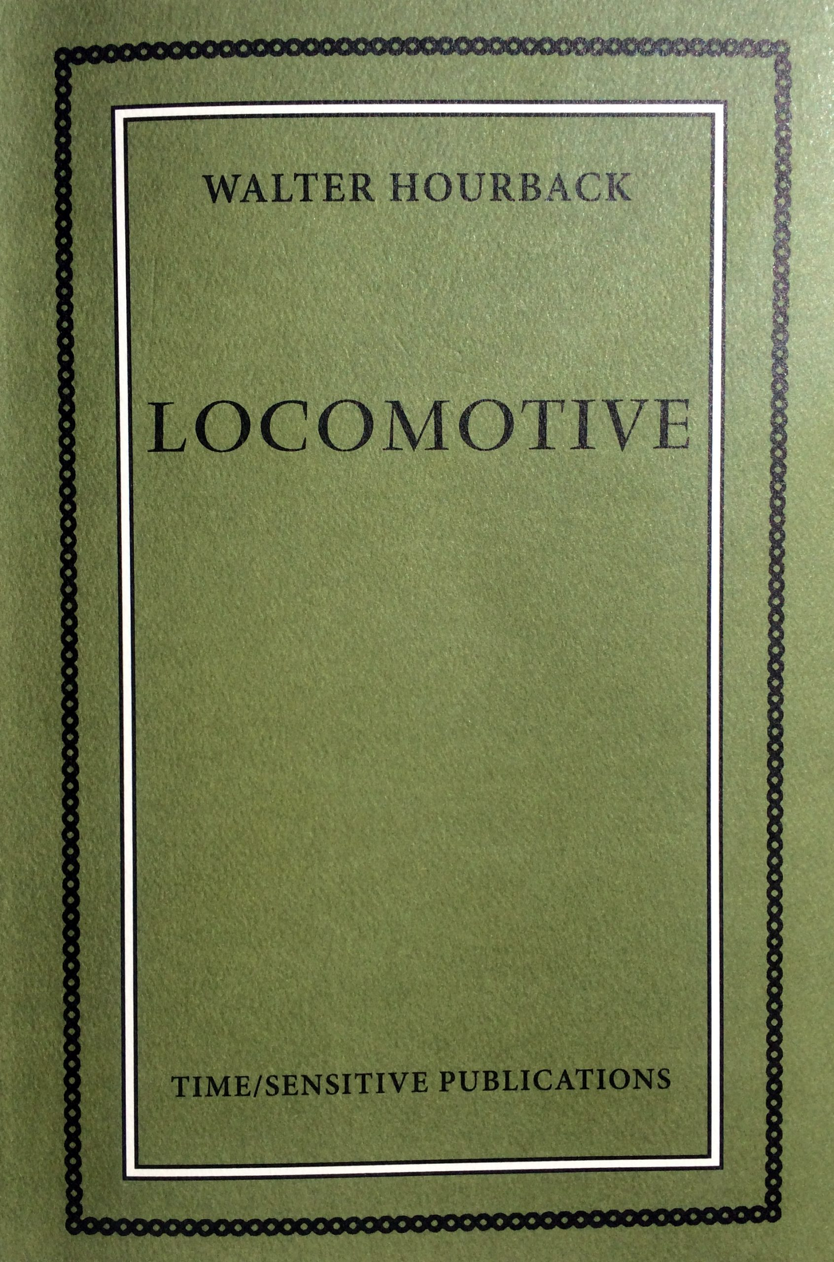 Book cover, Locomotive by Wallter Hourback